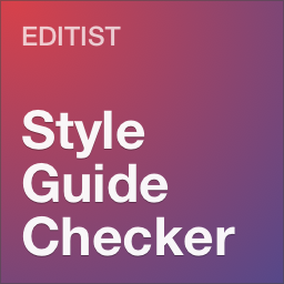 Editorial Style Guide Checker - WordPress Plugin by Editist